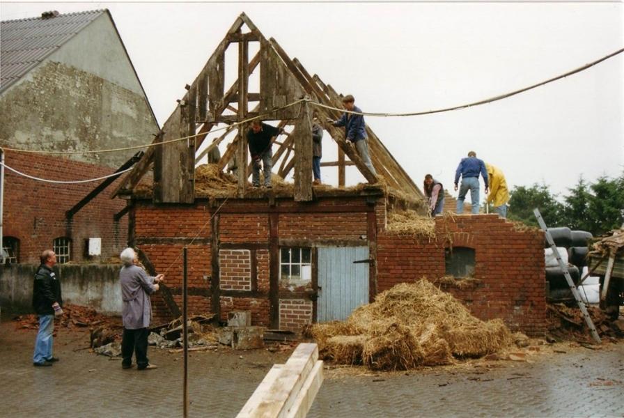 Das Haus am alten Standort